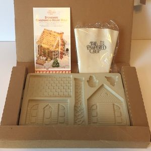 Vtg NIB Gingerbread House Mold Pampered Chef 1992